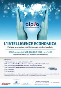"""Convegno """"Intelligenza Economica"""" - Roma,20 giugno 2012  Franco Cecconi"""