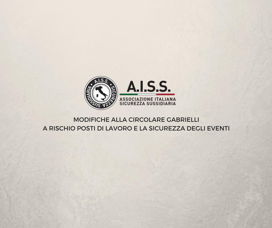 Modifiche al Decreto Gabrielli, Cecconi : Preferire associazioni no profit alle agenzie autorizzate ai sensi del 134 TULPS è un errore.