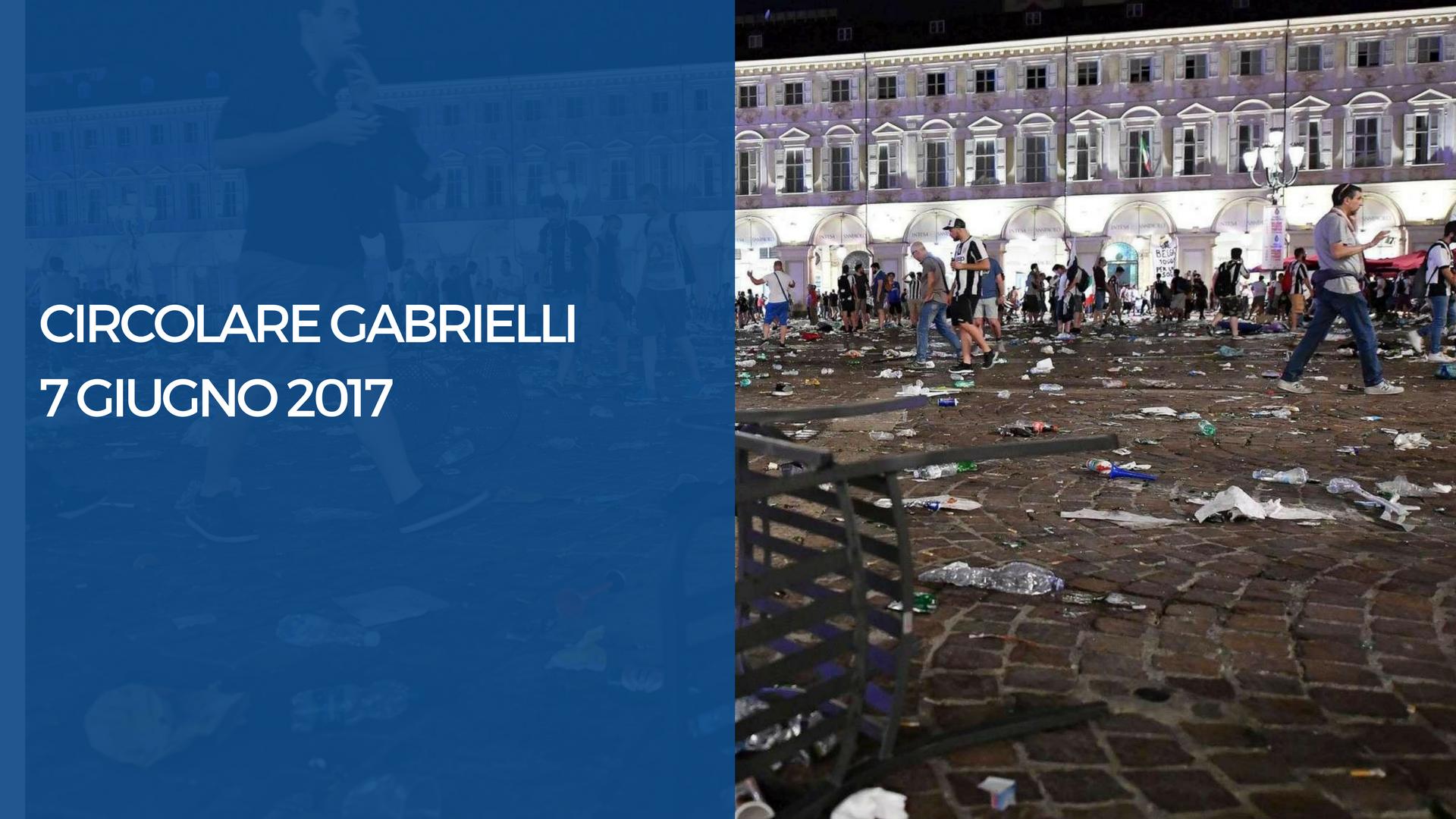 Circolare Gabrielli del 7 giugno 2017 i dettagli a riguardo delle manifestazioni pubbliche