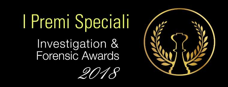 Investigation & Forensic Awards 2018 a Franco Cecconi il premio speciale alla carriera