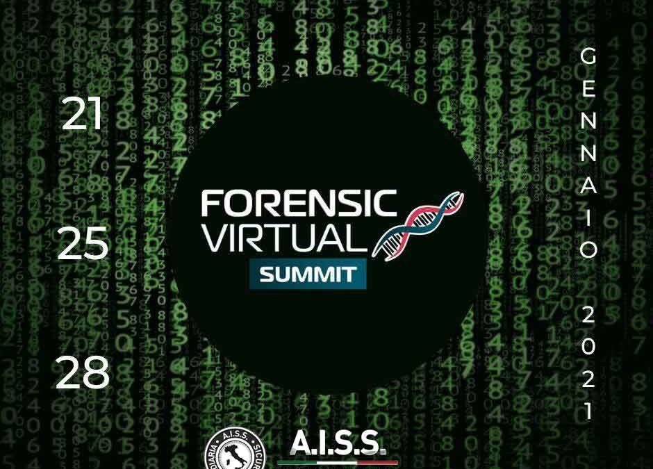 21, 25 e 28 gennaio 2021: Forensic Virtual Summit
