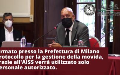 Firmato a Milano in Prefettura protocollo per la gestione della movida